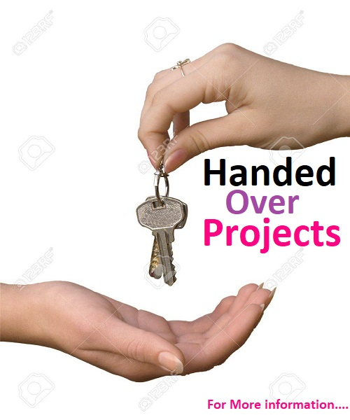 Handed over